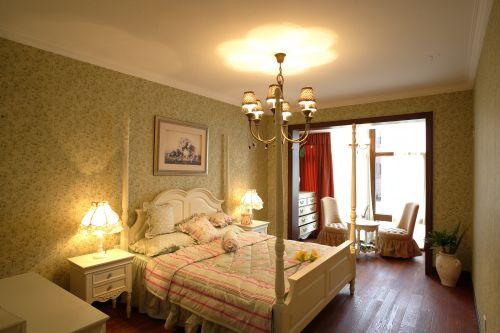 田园风格二居室卧室装修效果图大全