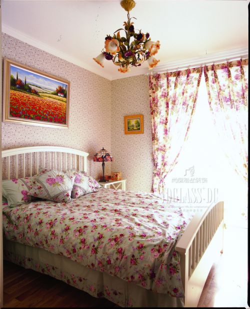 田园风格别墅卧室装修效果图大全