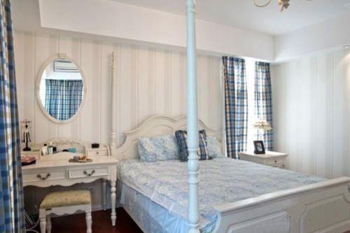 田园风格二居室卧室梳妆台装修效果图大全