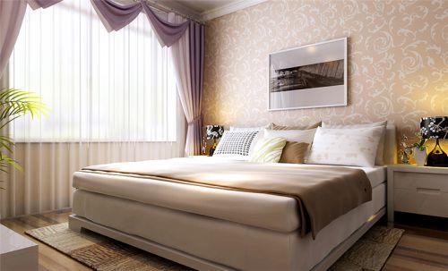 田园风格二居室卧室照片墙装修效果图欣赏