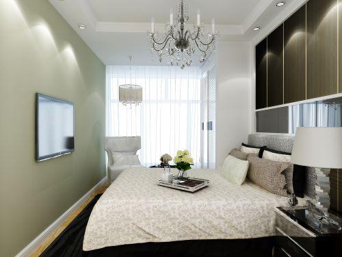 田园风格四居室卧室床装修效果图大全