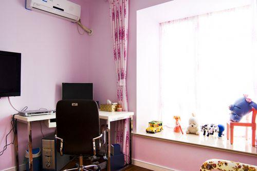 田园风格一居室卧室装修效果图
