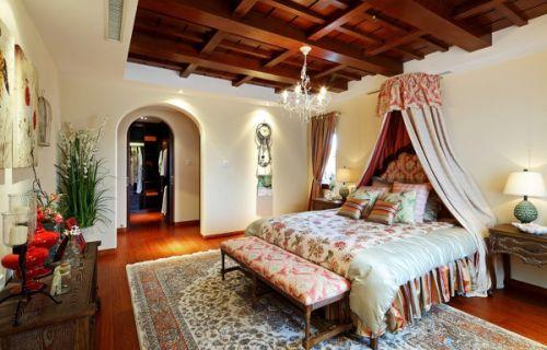 田园风格别墅卧室装修图片欣赏