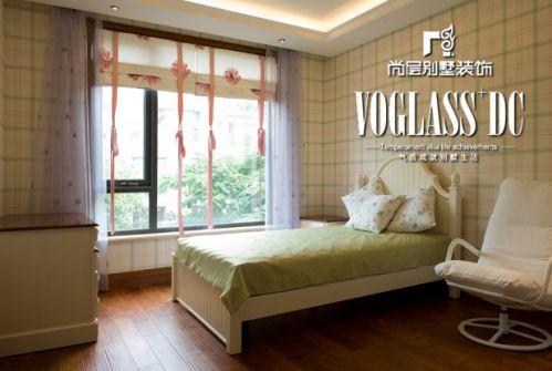 田园风格五居室卧室装修效果图大全
