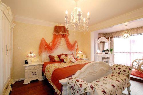 田园风格二居室卧室婴儿床装修图片