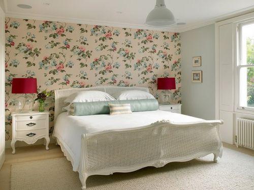 田园风格四居室卧室装修效果图欣赏