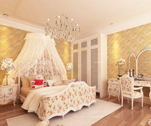 田园风格温馨流行小卧室设计效果图