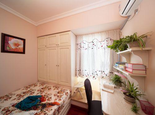 温馨田园风格小户型卧室装修效果图