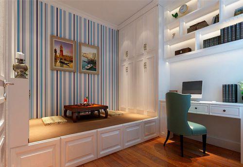 地中海风格二居室卧室床头柜装修效果图大全