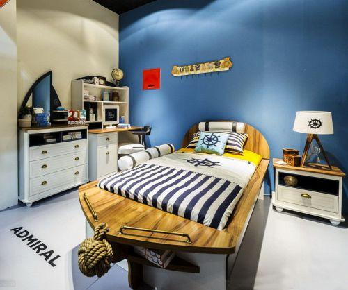 地中海风格儿童卧室装修效果图