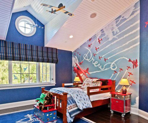 地中海风格儿童可爱卧室装修效果图