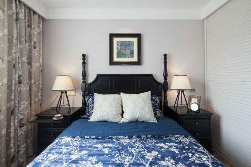 地中海风格三居室卧室吊顶装修效果图大全