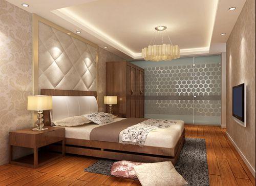 地中海风格三居室卧室梳妆台装修效果图欣赏