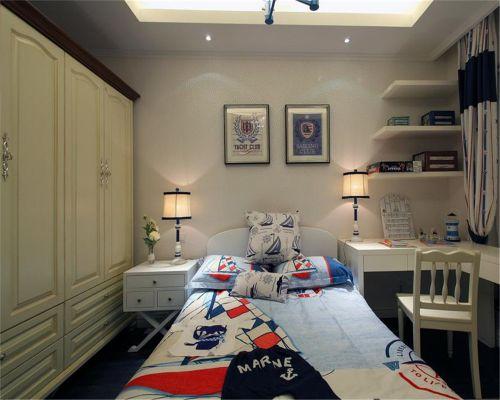 地中海风格二居室卧室吊顶装修效果图欣赏