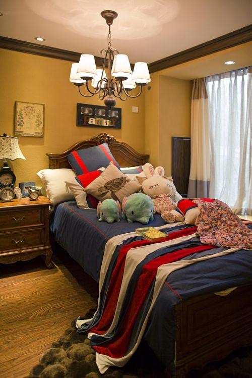 别样风情个性地中海风格卧室装修效果图