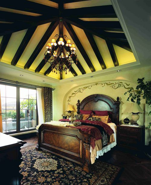 浪漫诗意的地中海风格卧室装修效果图