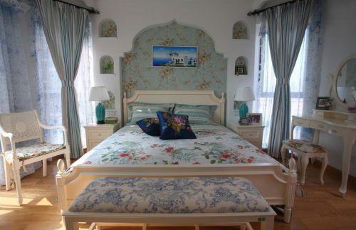 情趣地中海风格卧室装修效果图