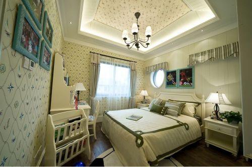 地中海风格五居室卧室衣柜装修效果图