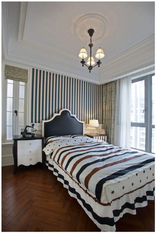地中海风格四居室卧室飘窗装修效果图欣赏