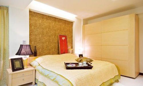 地中海式风格二居室卧室装修图片