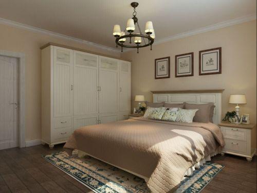 地中海风格四居室卧室照片墙装修效果图