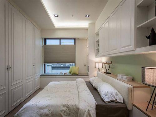 地中海风格二居室卧室灯具装修图片