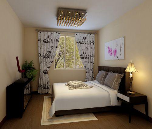 地中海风格二居室卧室衣柜装修效果图欣赏