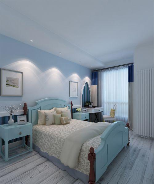 地中海风格五居室卧室吊顶装修效果图欣赏