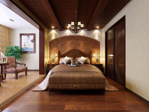 地中海风格别墅卧室装修图片