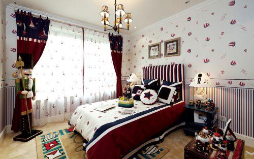 地中海风格六居室以上卧室装修图片