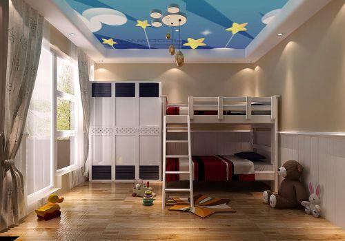 地中海风格别墅卧室装修图片欣赏