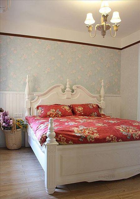 地中海二居室卧室装修效果图
