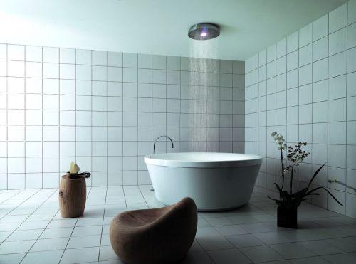 现代简约风格五居室卫生间浴缸效果图