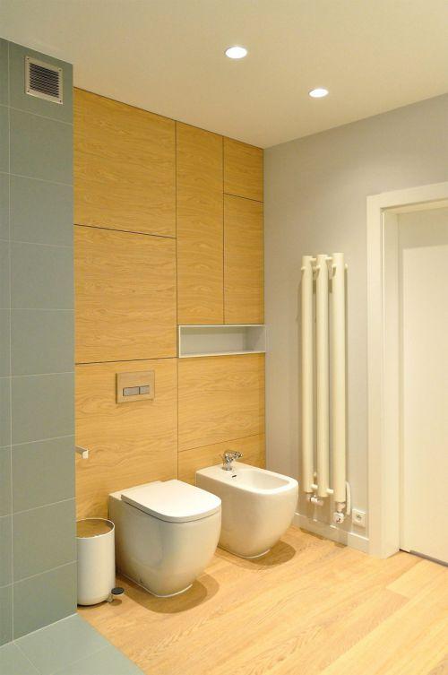 清爽温润现代简约风格卫生间装修设计