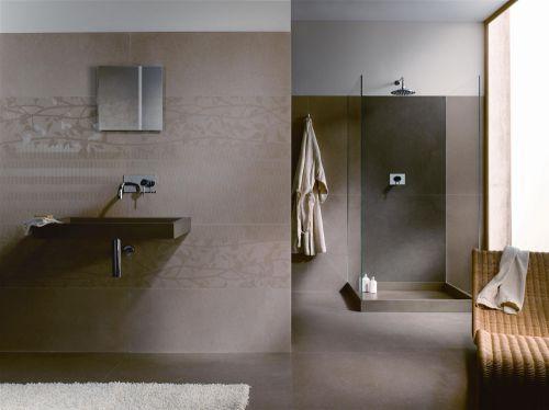 现代宜家风灰色系卫生间装修效果图