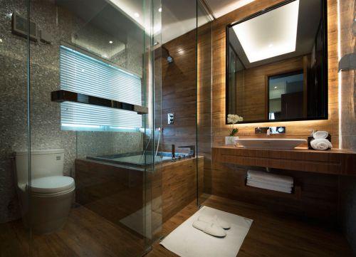 典雅现代风格卫生间装修效果图