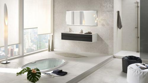 四居室现代简约风格卫生间浴缸效果图