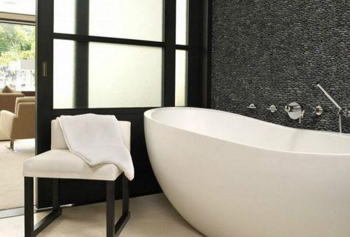 经典现代风格雅黑卫生间浴缸装修效果图