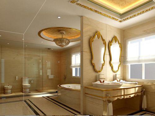 现代欧式三居室卫生间装修图片欣赏