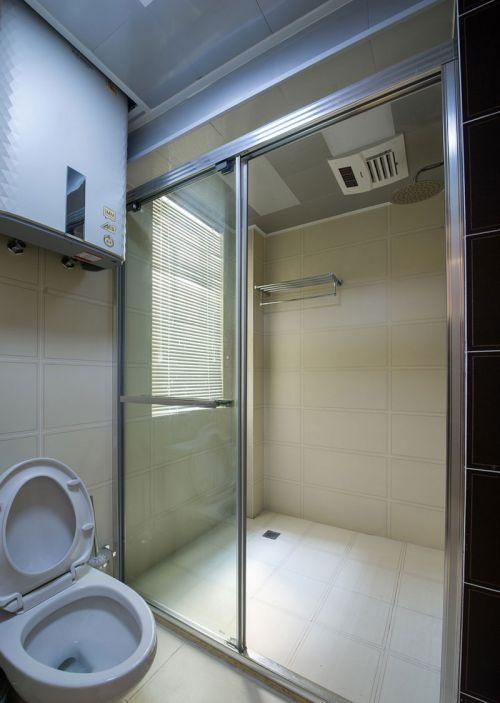 家装现代风格卫生间淋浴间效果图大全