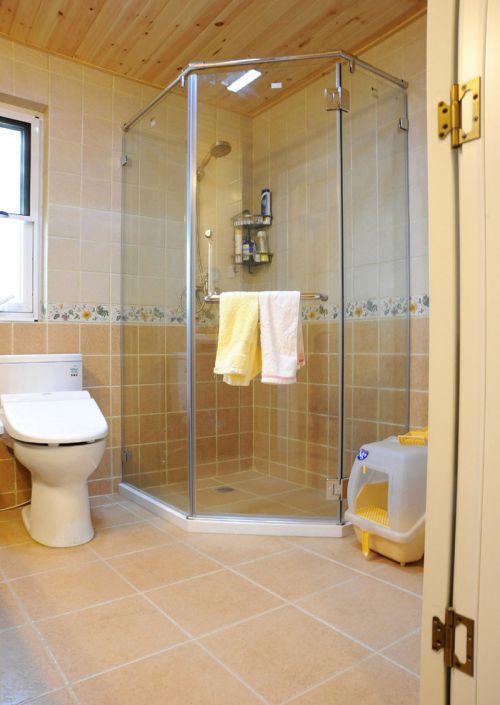 家装现代风格卫生间淋浴间图片欣赏