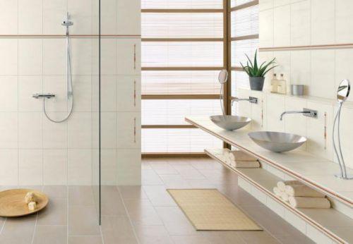 三居室现代简约典雅卫生间淋浴间装修效果图
