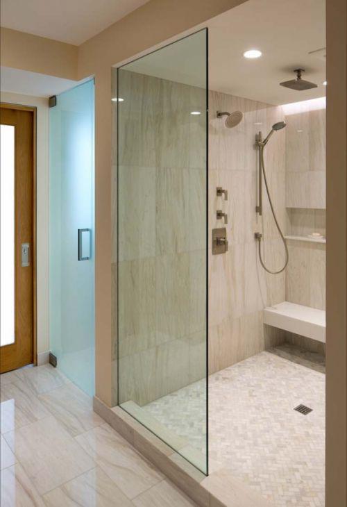 清爽现代风格卫生间装修设计