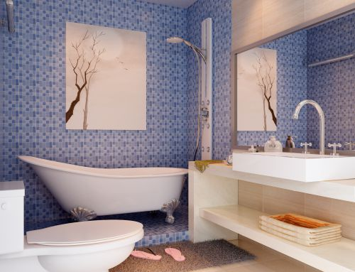 现代简约四居室卫生间装修图片欣赏