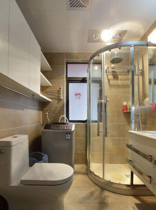 现代简约二居室卫生间装修效果图