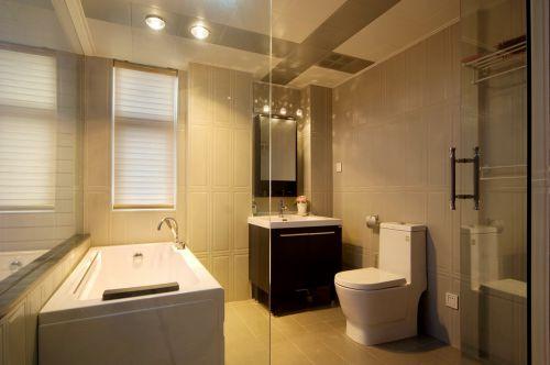 暖意家装现代风格卫生间装修设计