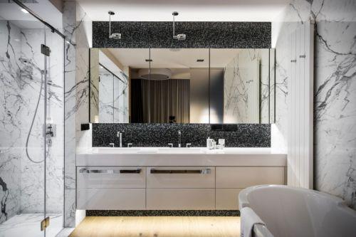 个性雅致现代风格时尚卫生间装修图片