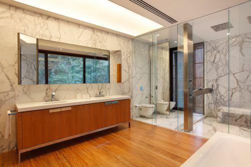 清新奢华现代风格卫生间淋浴间装修设计