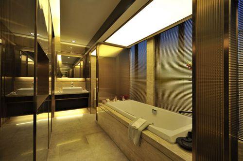 后现代奢华风格三居室卫生间装修效果图欣赏