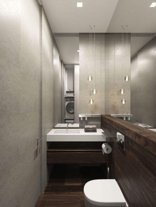 现代风格精致小户型卫生间装修效果图